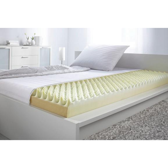 Ležišče 140x200 Cm Living Micro - bela, tekstil (140/200cm) - Nadana