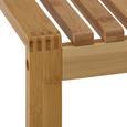 Hocker Echtholz 'Mirella' - Buchefarben, MODERN, Holz (40/45/40cm) - Bessagi Home
