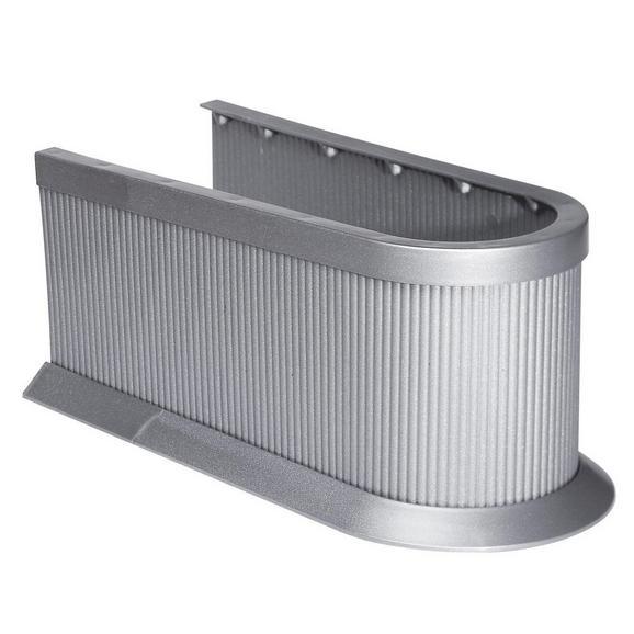 Siphon Silber - Silberfarben, Kunststoff (11cm) - Mömax modern living