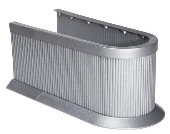 Szifontakaró 61546 Silber    -sb- - Ezüst, Műanyag (11cm)