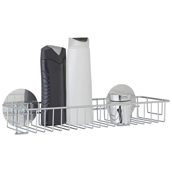 Duschregal aus Stahl - MODERN, Metall (35/9,5/14cm) - Mömax modern living