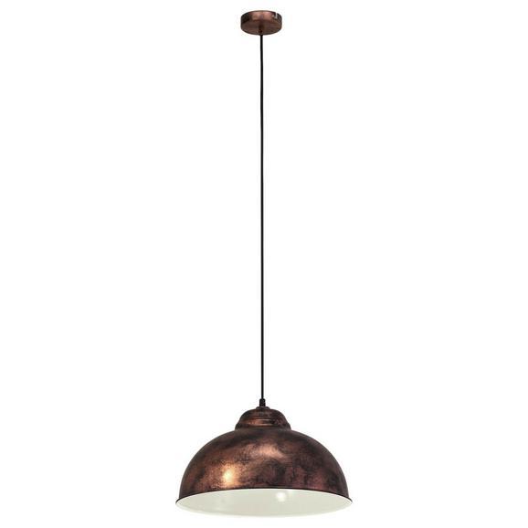 Hängeleuchte Truro 2 max. 60 Watt - Kupferfarben, LIFESTYLE, Metall (37/110cm)
