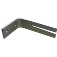Träger Rail - Silberfarben, Metall (12cm) - Mömax modern living