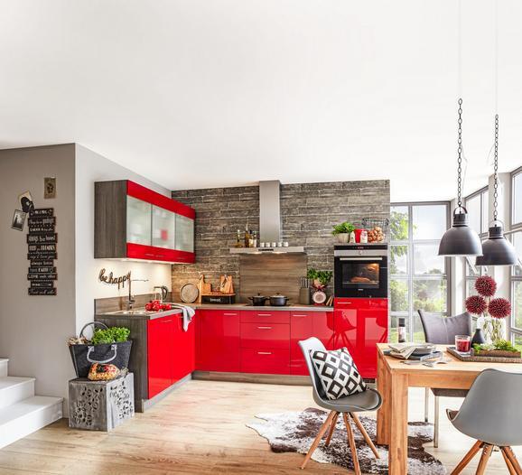 Kotna Kuhinja Star - rdeča (175/285cm)