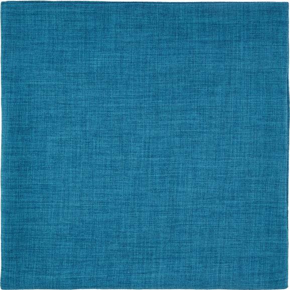 Prevleka Blazine Leinenoptik - turkizna, Konvencionalno, tekstil (50/50cm) - Mömax modern living