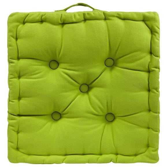 Boxkissen Ninix in Grün ca. 40x40x10cm - Grün, Textil (40/40/10cm) - Mömax modern living