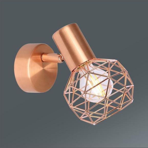 Strahler Xara in Kupfer, max. 40 Watt - Kupferfarben, LIFESTYLE, Metall (9,5/15,5cm) - Mömax modern living