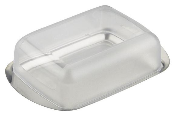 Posodica Za Maslo Buddy - prosojna/srebrna, umetna masa (16,5/10,5/cm) - Mömax modern living