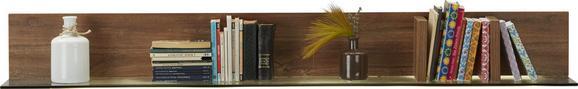 Wandboard in Akazie - MODERN, Holz (140/17/22cm) - Premium Living