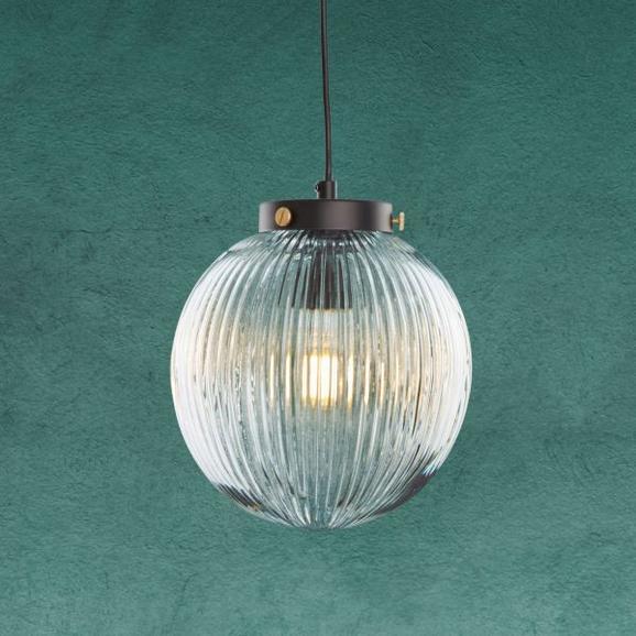 Pendelleuchte Jasper - Klar, MODERN, Glas/Metall (20/120cm) - Modern Living