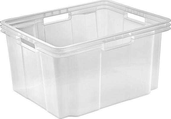 Škatla Za Shranjevanje Lukas -hit- - prosojna, umetna masa (43/23/35cm)