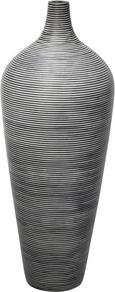Vaza Marlene - črna, umetna masa (30/80cm) - Mömax modern living