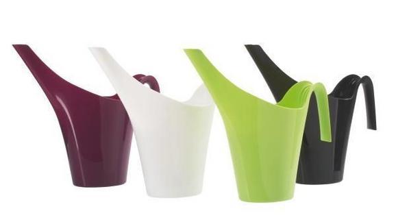 Locsolókanna Rosi - lila/fekete, konvencionális, műanyag (1.7l)