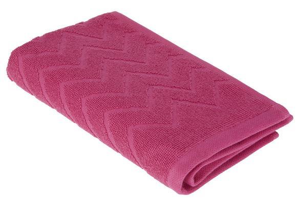 Gästetuch Peter in Pink - Pink, Textil (30/50cm) - Mömax modern living