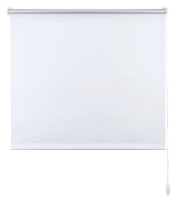 Klemmrollo Thermo in Weiß, ca. 100x150cm - Weiß, Textil (100/150cm) - Premium Living