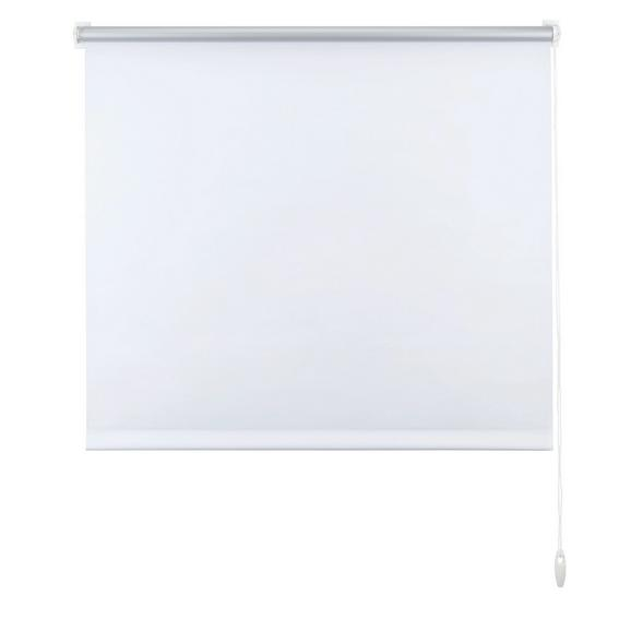 Klemmrollo Thermo Weiß ca. 100x150cm - Weiß, Textil (100/150cm) - Premium Living