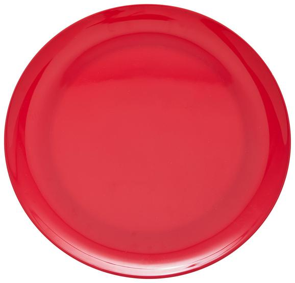 Speiseteller Uni aus Kunststoff Ø ca. 25cm - Pink, Trend, Kunststoff (25,2cm) - Mömax modern living
