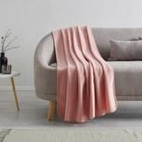 Fleecedecke Anni 130x170 cm - Rosa, MODERN, Textil (130/170cm) - Modern Living