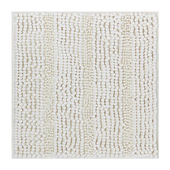 Badematte Uwe ca. 50x50cm - Weiß, Textil (50/50cm) - MÖMAX modern living