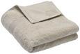 Handtuch Silvia Sandfarben - Sandfarben, Textil (50/100cm) - Modern Living