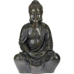 Buddha Manga in Braun - Braun, LIFESTYLE, Kunststoff (44/34/68cm) - Mömax modern living
