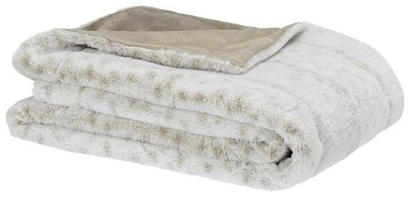 Kuscheldecke Leon Beige 130x180cm - Beige, Textil (130/180cm) - Mömax modern living