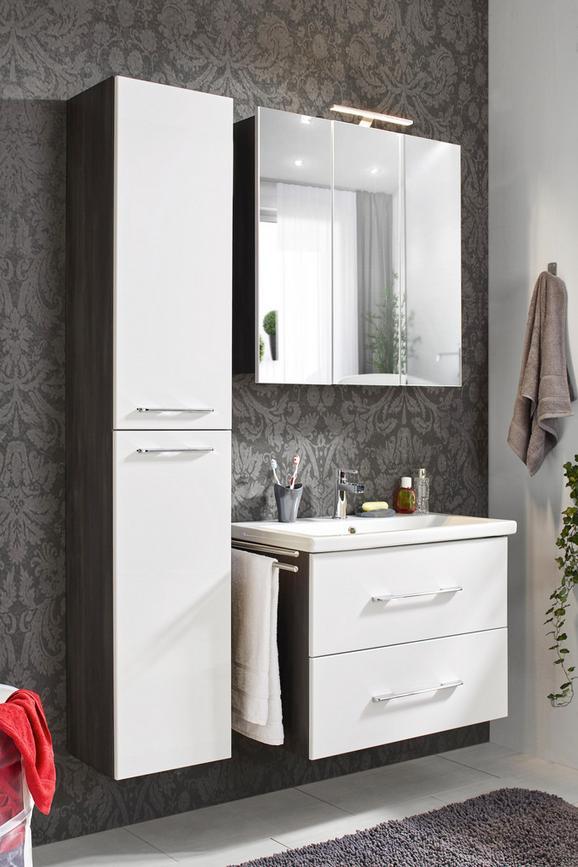 Omarica Za Pod Umivalnik Karina Ii - temno siva/bela, Moderno, kovina/leseni material (80/62,5/45cm) - Mömax modern living