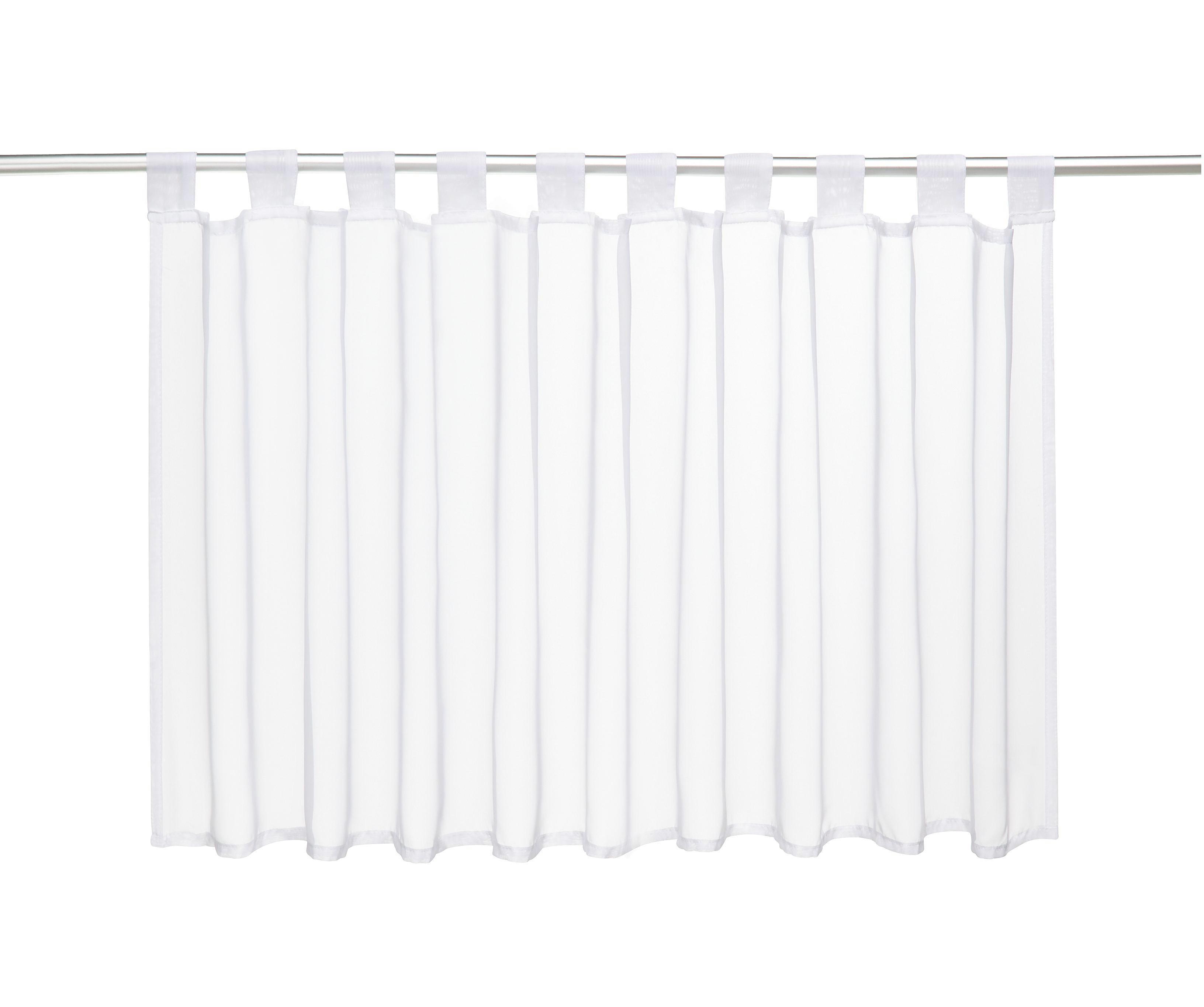 Vitrázsfüggöny Fehér - fehér, textil (145/50cm) - MÖMAX modern living