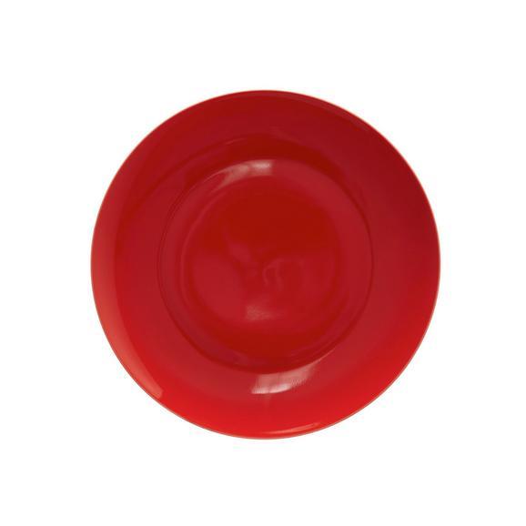 Desszertes Tányér Sandy - piros, konvencionális, kerámia (20,4/1,8cm) - MÖMAX modern living