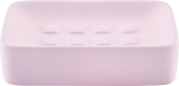 Seifenschale Carina Rosa - Rosa, Keramik (8,3/12,5cm) - Mömax modern living