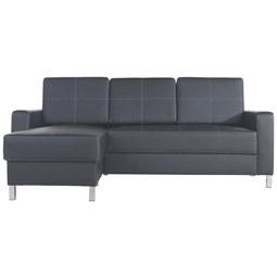 Sedežna Garnitura Colorado - črna, Trendi, kovina/tekstil (203/144cm) - BASED