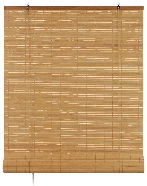 Rollo Woody Braun ca. 80x240cm - Braun, LIFESTYLE, Holz (80/240cm) - Mömax modern living