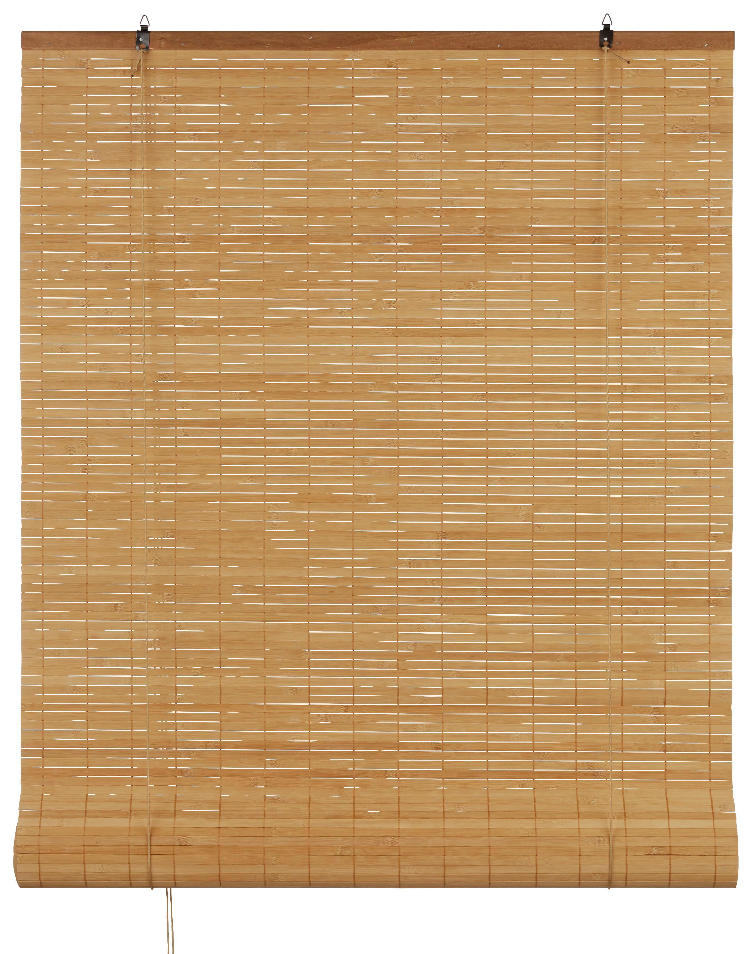 Rollo Woody in Braun, ca. 80x240cm - Braun, LIFESTYLE, Holz (80/240cm) - MÖMAX modern living