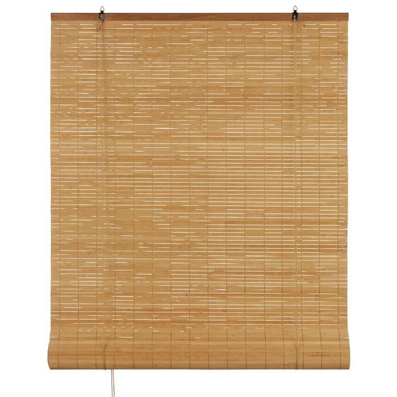 rollo woody in braun ca 80x240cm online kaufen m max. Black Bedroom Furniture Sets. Home Design Ideas