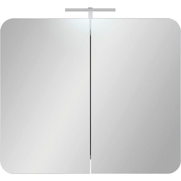 Dulap Cu Oglindă Linate - Modern, compozit lemnos (80/69/16cm) - Modern Living