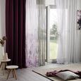 Fertigvorhang Blütenmeer ca. 135x245cm - Pflaume, ROMANTIK / LANDHAUS, Textil (135/245cm) - Mömax modern living