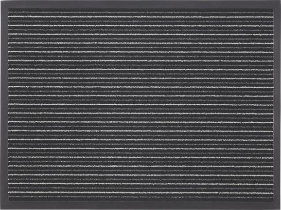 Lábtörlő Tango - Fehér/Fekete, konvencionális, Textil (60/80cm) - Mömax modern living