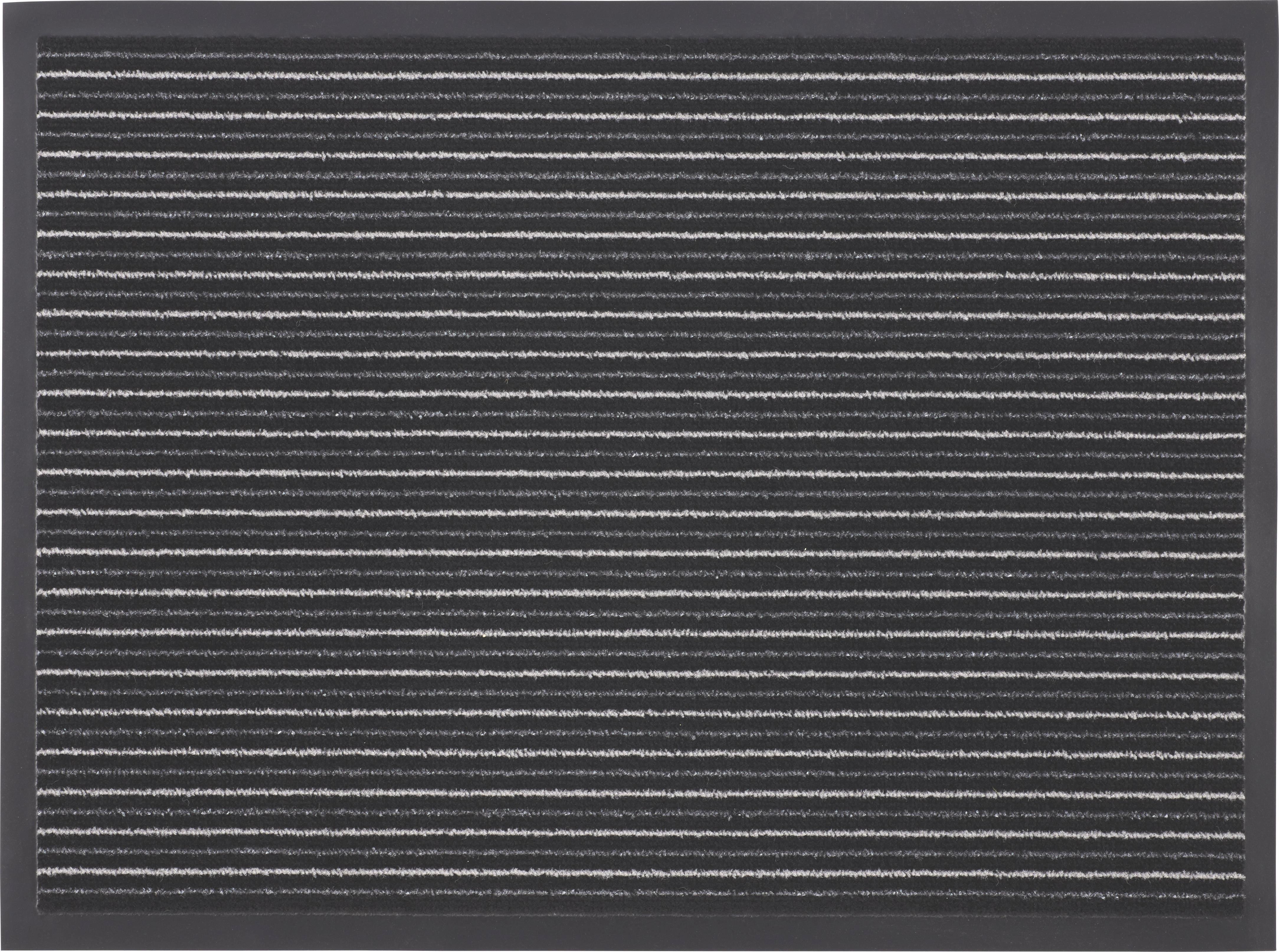 Lábtörlő Tango - fekete/fehér, konvencionális, textil (60/80cm) - MÖMAX modern living