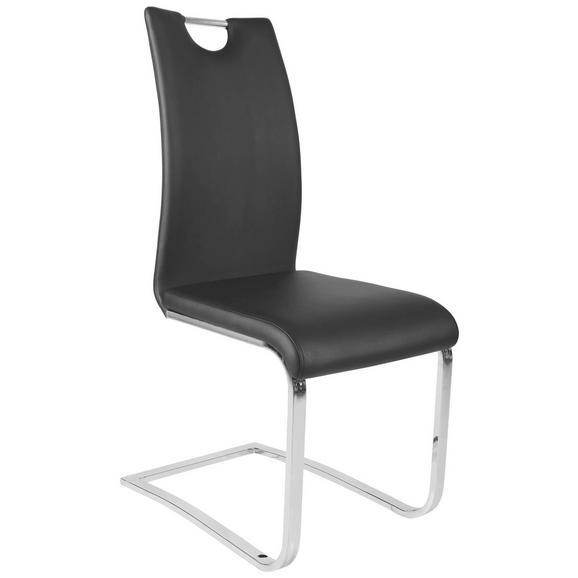 Schwingstuhl in schwarz online kaufen m max for Holz schwingstuhl