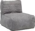 Sitzsack Grau - Grau, Textil (120/90/90cm) - Modern Living