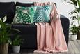 Kuscheldecke Kuschelix Rosa - Rosa, Textil (140/200cm)