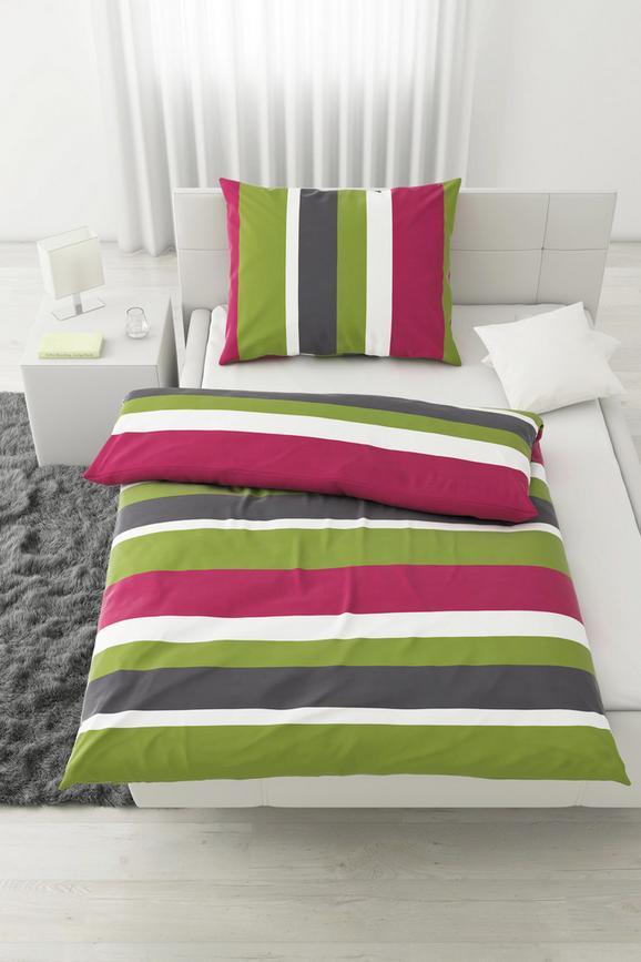 Posteljnina Max -eö- - gozdni sadeži/siva, tekstil - Mömax modern living