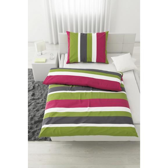 Posteljnina Max -eö- - siva/gozdni sadeži, tekstil - Mömax modern living