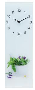 Stenska Ura Fine Herbs - večbarvno, Konvencionalno, kovina/steklo (20/60/3,5cm)