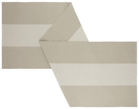 Tischläufer Lisa Beige - Beige, MODERN, Textil (45/150cm) - MÖMAX modern living