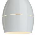 Pendelleuchte Bora - Weiß, MODERN, Metall (16,5/16,5/127cm) - Mömax modern living
