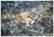 Teppich Digitaldruck Pave 40x60cm - Dunkelgrau/Hellgrau, Textil (40/60cm) - Mömax modern living