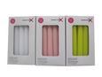 Gyertya Henry - 10 Db/csomag - Rózsaszín/Zöld (2,2/17,7cm) - Mömax modern living