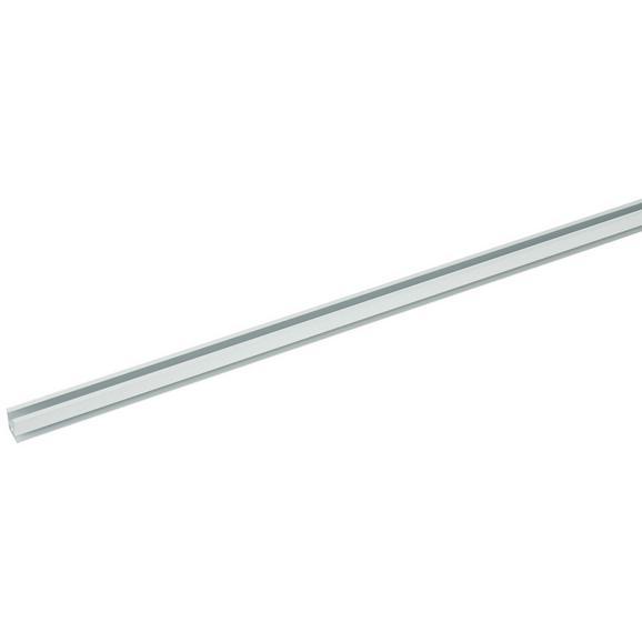 Vodilo Za Zavese Style - bela, kovina (120cm) - Premium Living