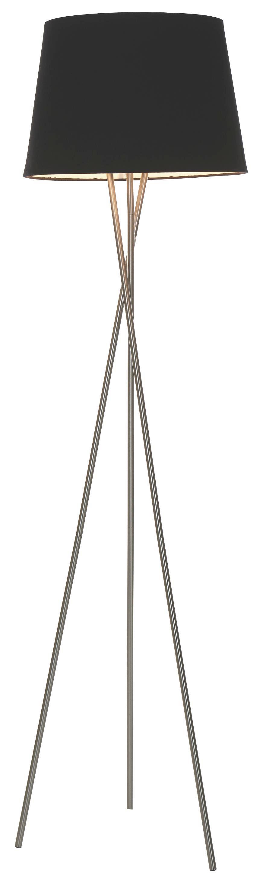 Lámpa Állvány Andrea - nikkel színű, fém (145cm) - MÖMAX modern living